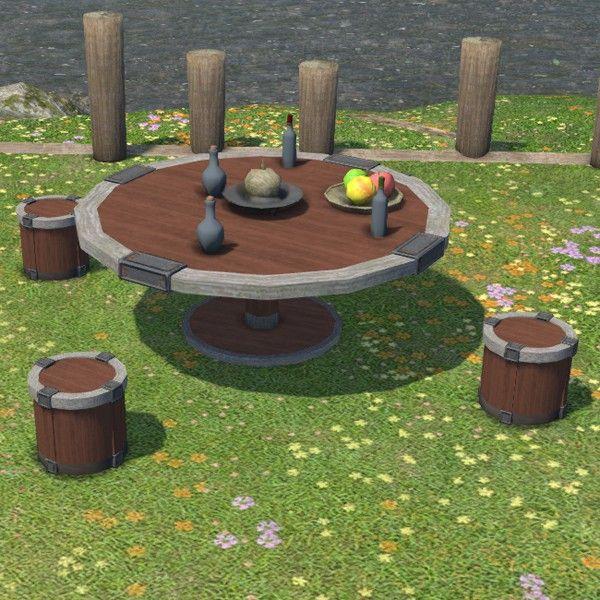 Riviera Garden Table Set