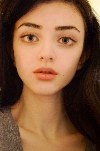 Natural Beauty, Big Doe Eyes  Skinny Face, Eye -4899