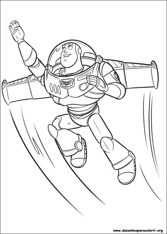 Resultado De Imagem Para Riscos Toy Story Desenhos Para Colorir
