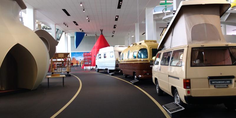 Der Traum vom großen oder kleinen Campingabenteuer im Hymer Museum