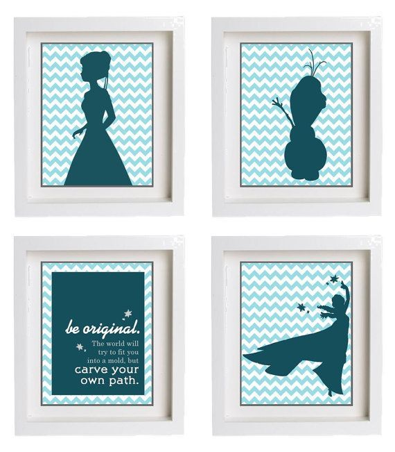 Frozen Wall Art disney frozen room decor: 11 cool finds for nephews and nieces