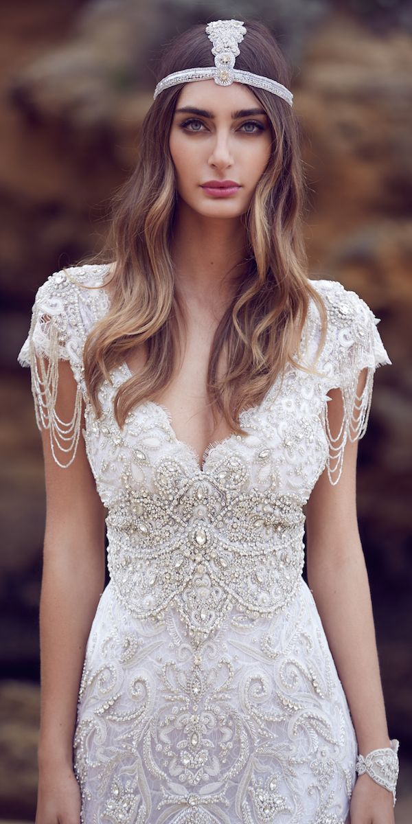 Designer Highlight: Anna Campbell Wedding Dresses