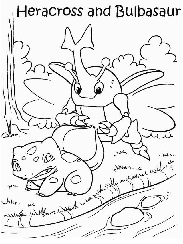 Dibujos para Colorear Pokemon 30 | Dibujos para colorear para niños ...