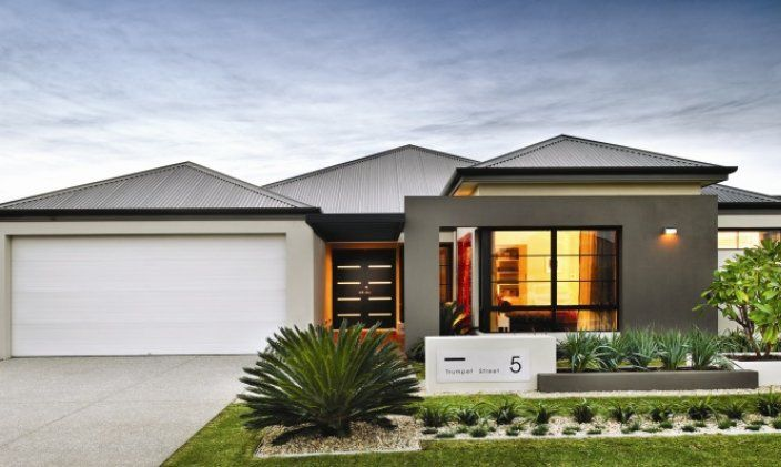 Dale alcock home designs archer visit for Front yard garden designs australia