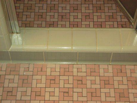 Octagon And Dot Floor Tiles In 13 Color Combinations Tile Floor Ceramic Tile Floor Bathroom Bathroom Flooring