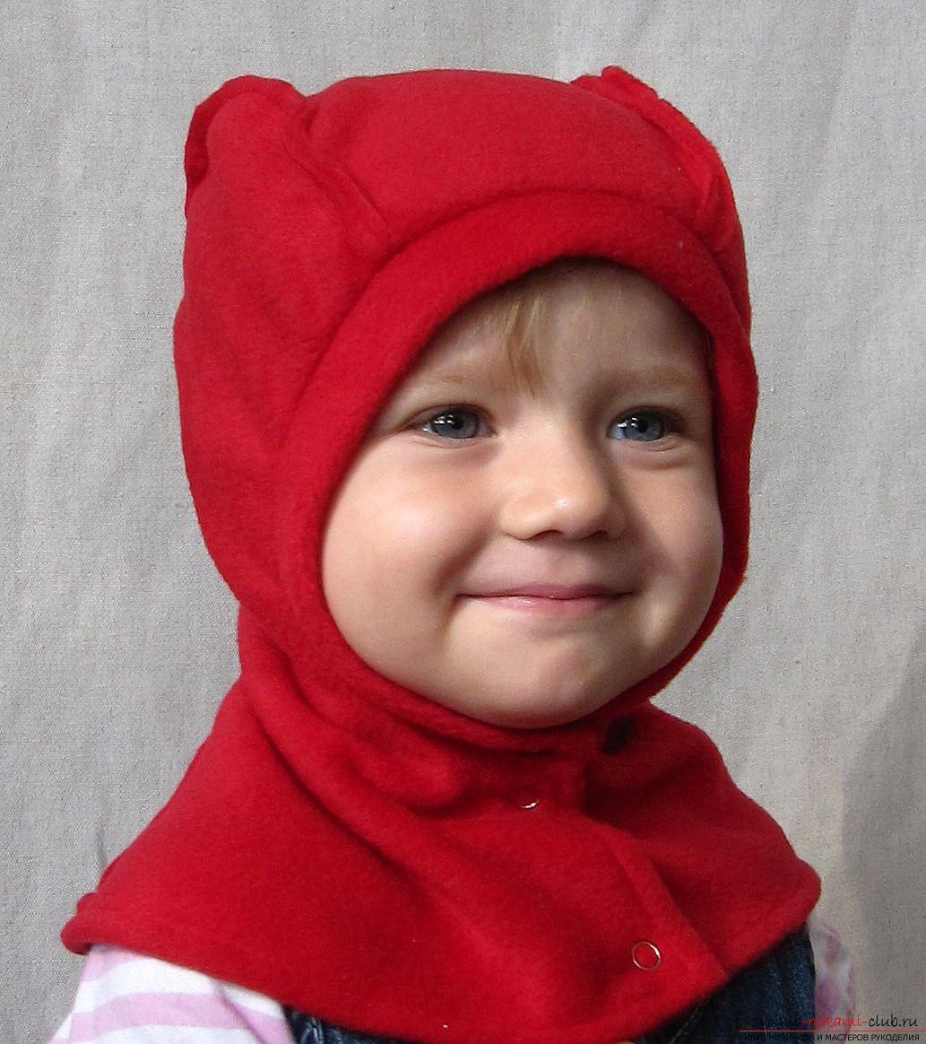 Из чего сшить зимнюю шапку для девочки фото 617
