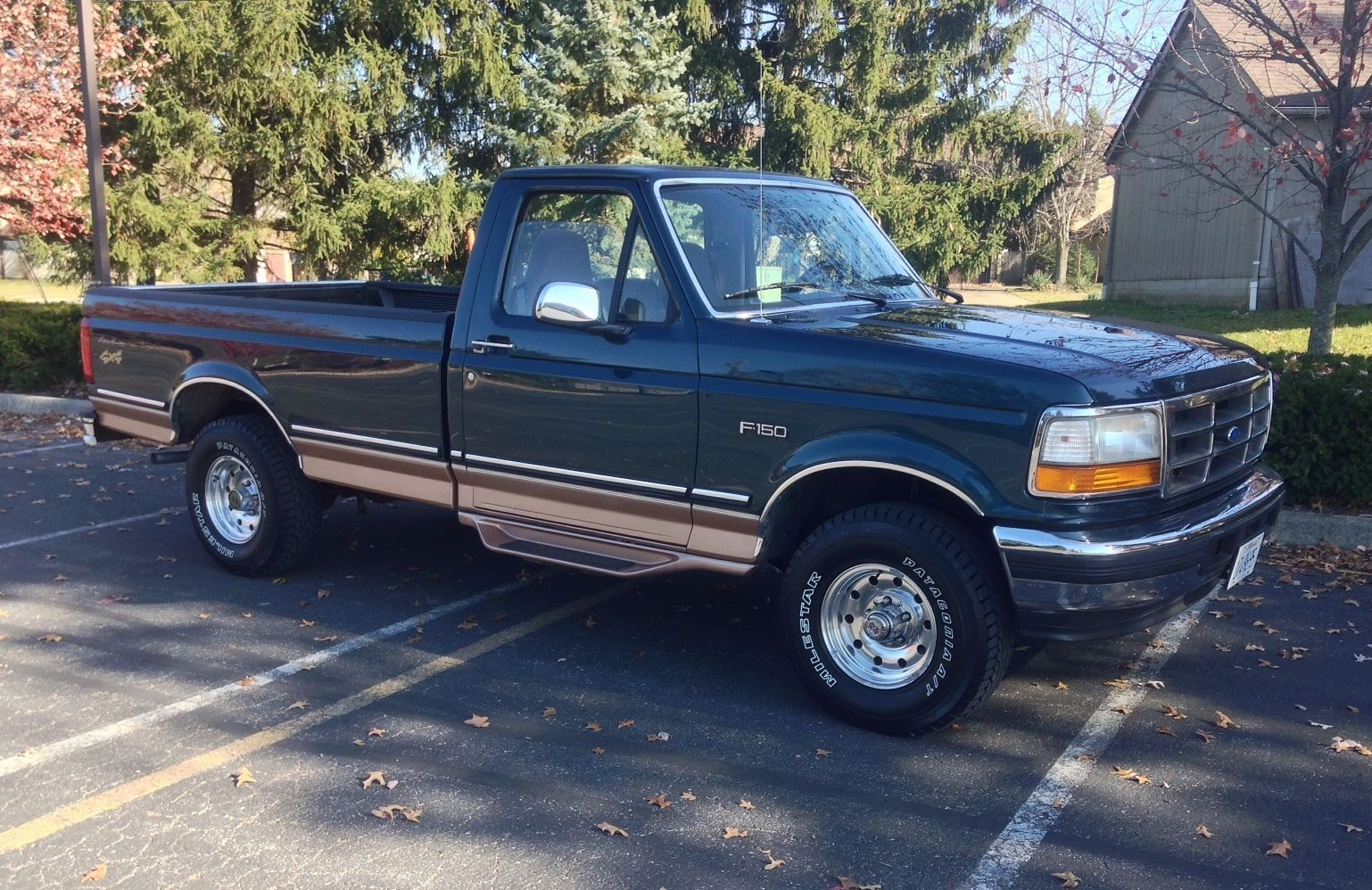 Awesome 1995 Ford F 150 Eddie Bauer 1995 Ford F150 4x4 Eddie Bauer Check More At Http Harmonisproduction Com 1995 For Ford Trucks Ford Truck 1995 Ford F150