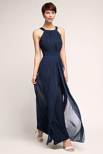 9fd45c6819c0 Esprit   Silkeblød maxi-kjole i chiffon   Dress   Dresses, Fashion ...