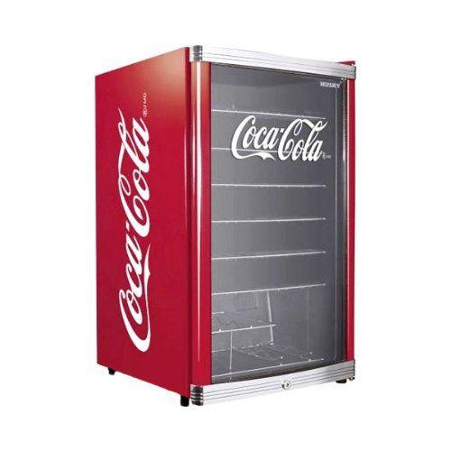 Cooler Coca Cola Kühlschrank im Retrolook - Husky HUS-HC 166 ...
