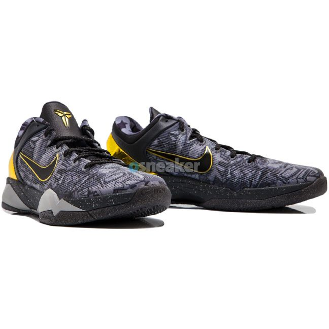 low priced 5cea2 4ad36 This is the Nike Zoom Kobe 7 London from the Prelude Pack which features a cool  grey, metallic gold and black color way.