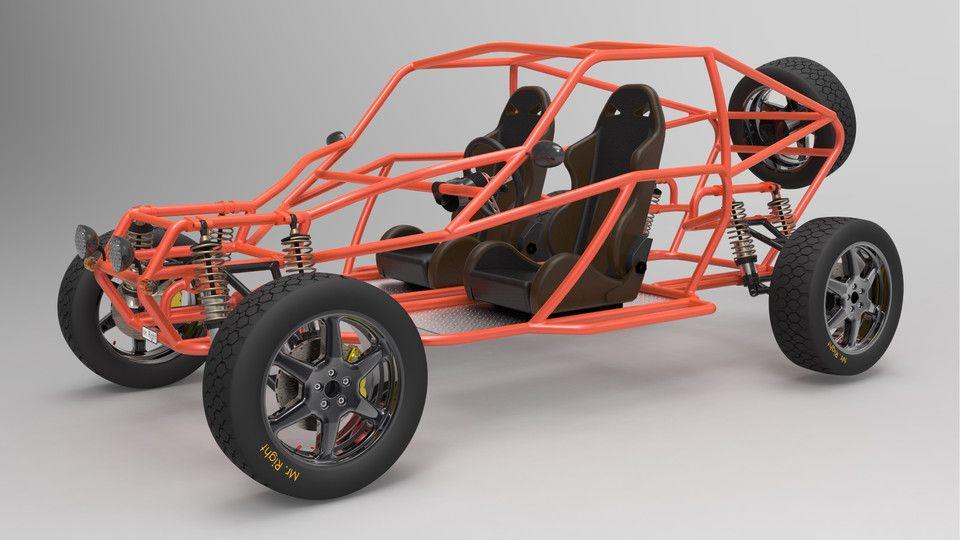Offroad Buggy Solidworks Solidworks 3d Cad Model