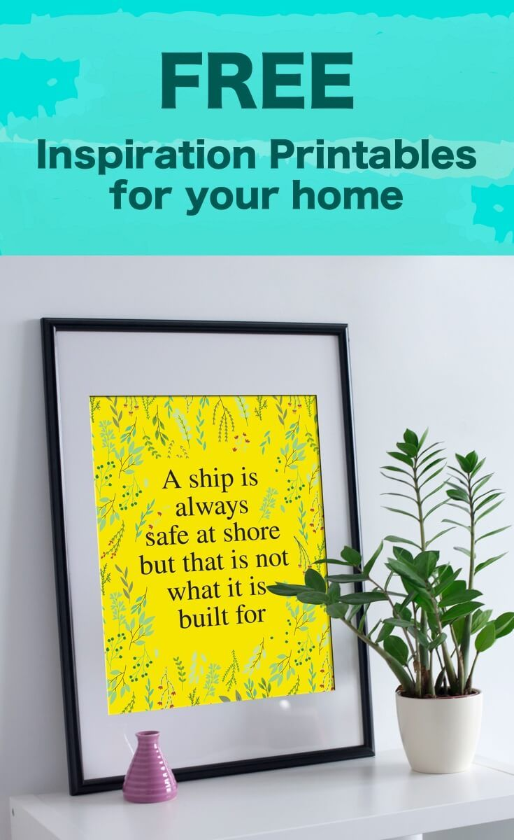 10 Free Printable Quotes to Motivate You Everyday | Pinterest | Free ...