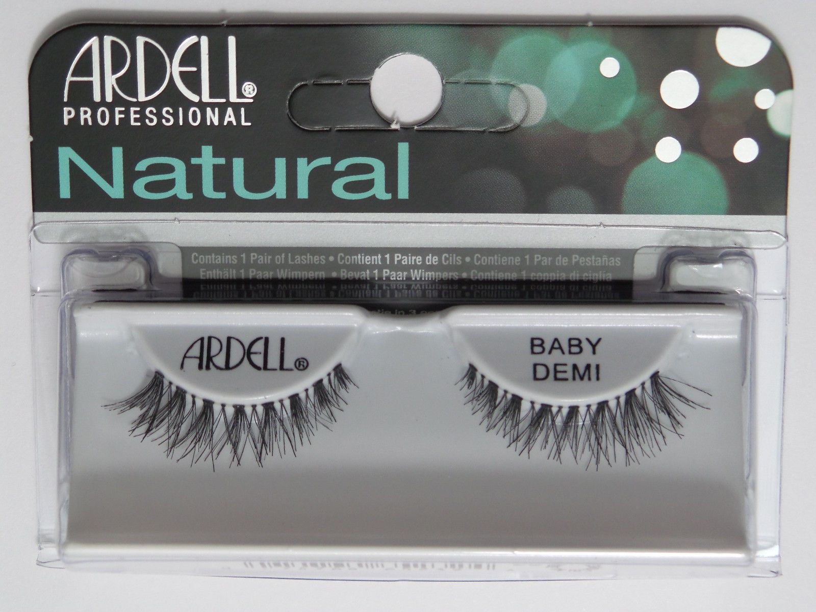 99055f332e3 (Lot Of 10) Ardell Natural Baby Demi Wispies False Fake Eyelashes Black  Wispies
