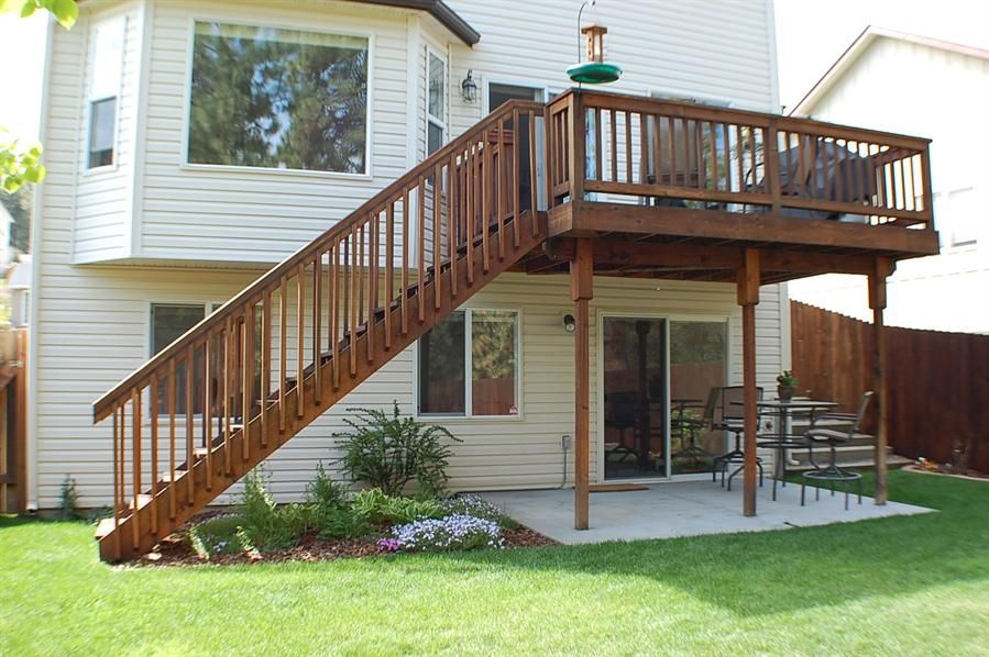 2 Story Deck Patio Google Search Deck Pinterest