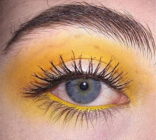 You Are My Sunshine Yell0w Makeup Aesthetic Makeup