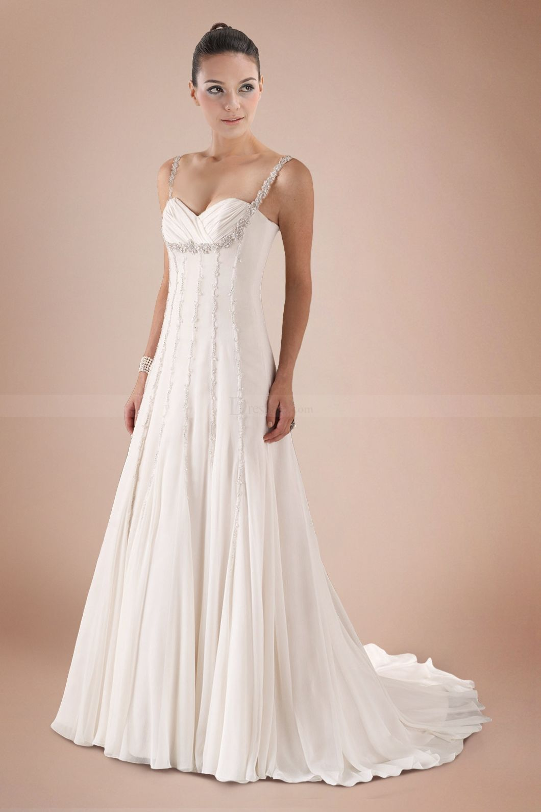 Beach wedding looks for bride  I like this Do you think I should buy it  Beautiful clothes