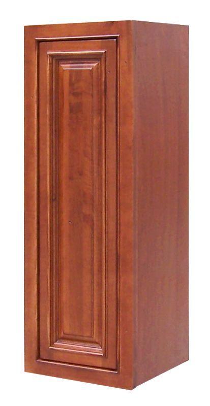 Sagehill Designs Ahw1242 Burnt Cinnamon Amherst 12 X 42 Single Door Kitchen Wall Cabinet In 2020 Kitchen Wall Cabinets Wall Cabinet Single Doors
