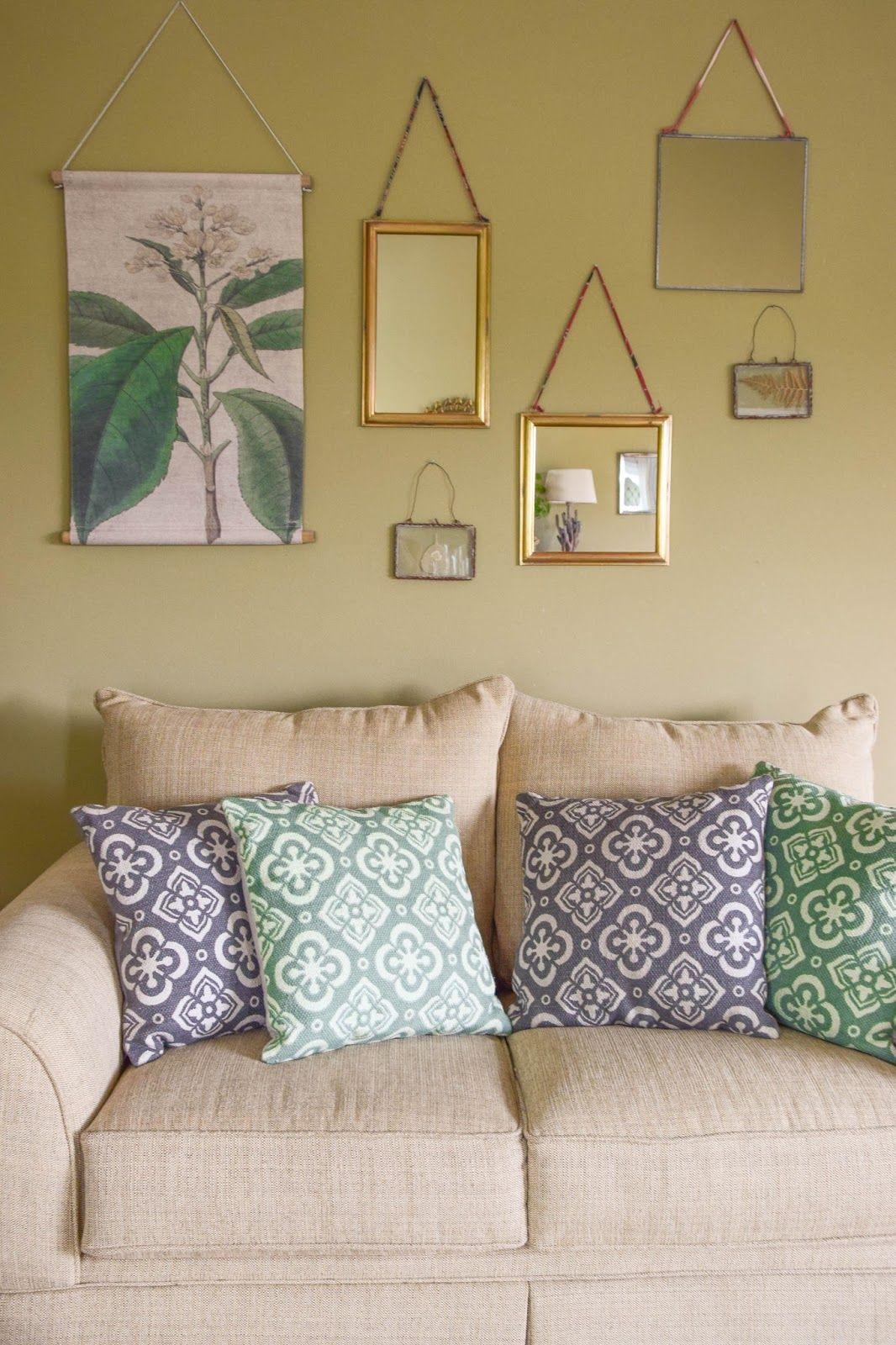 Nostalgische Schaubilder Und Spiegel   Kreative Wandgestaltung! | Deko:  Ideen Und Tipps Für Ein Schönes Zuhause | Pinterest | Wand, Dekoration And  Interiors