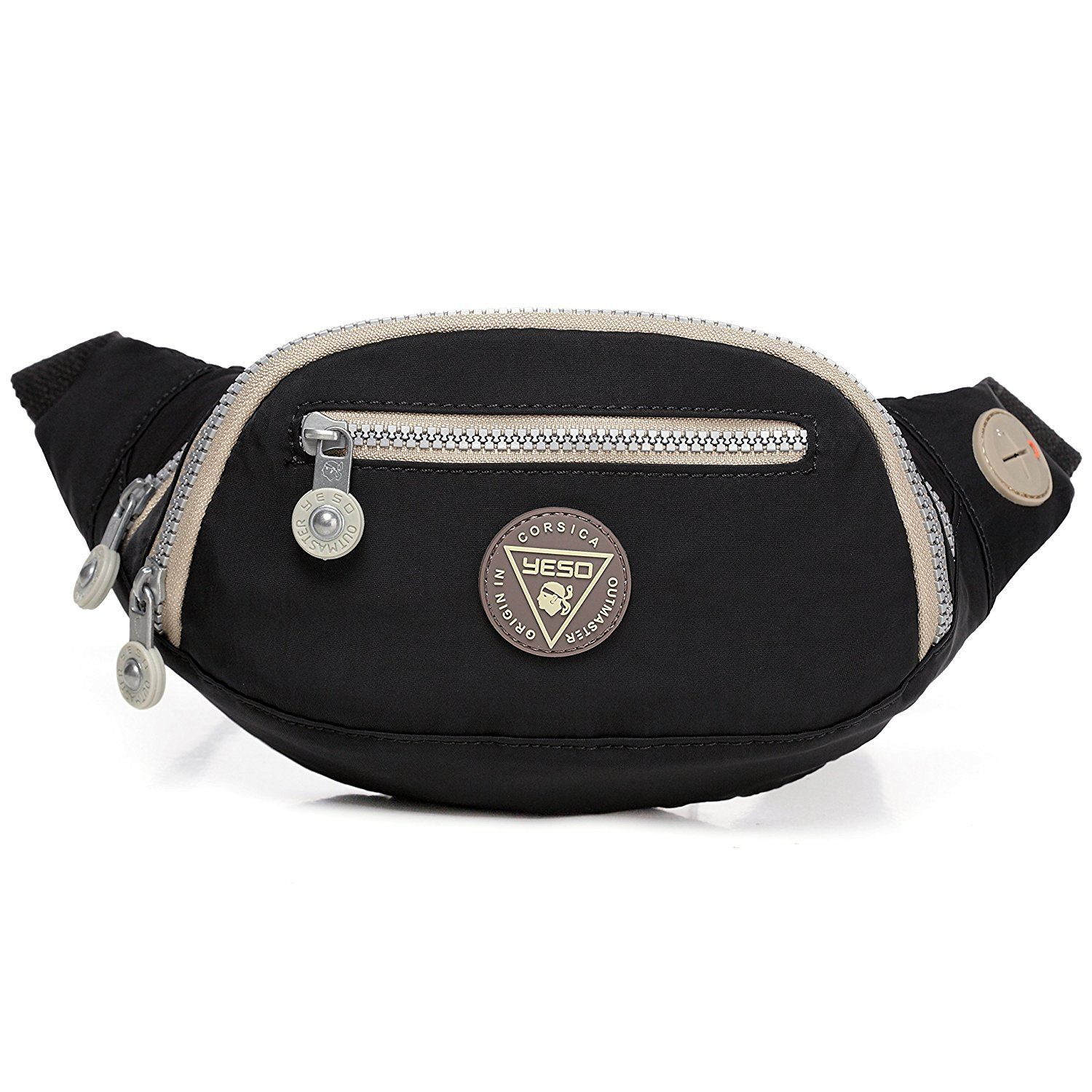 9b4a5338d390 Yeso Cute Water-resistant Nylon Fanny Packs For Women And Men - Mini ...