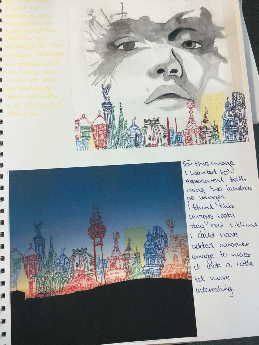 Sketchbook annotation