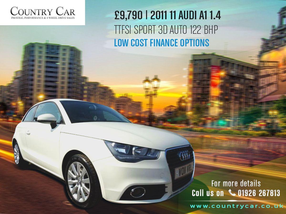 9 790 2011 11 Audi A1 1 4 Tfsi Sport 3d Auto 122 Bhplow Cost