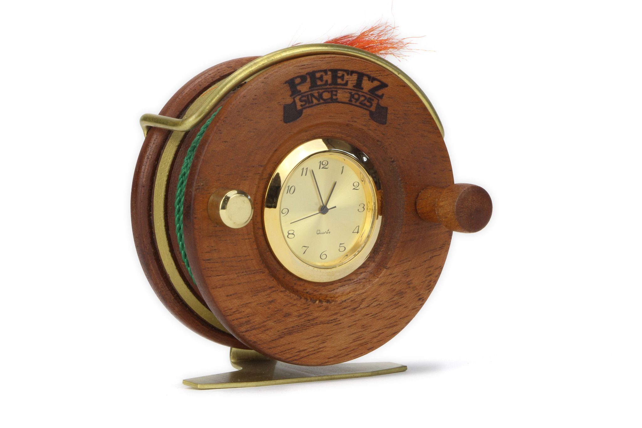 Fly Fishing Desk Clock A Great Gift For The Fisherman In Your