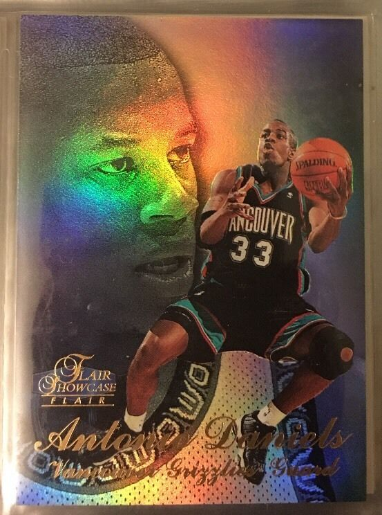 1997 Flair Showcase Antonio Daniels Grizzlies Near Mint Combined s Amp H | eBay