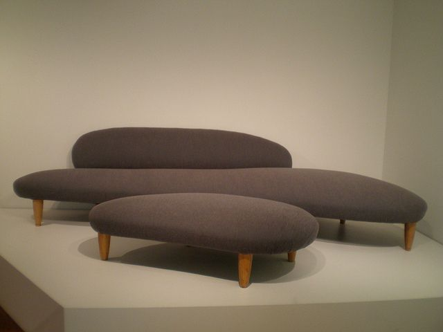 Chaise Lounge Sofa Isamu Noguchi Sofa and Ottoman ca Milwaukee Museum of Art