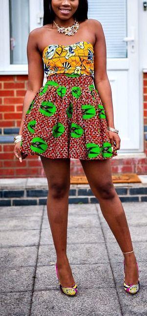 LAVIYEs Liebe zu afrikanischen Prints erwacht in diesem knielangen Rock mit Raffung zum Leben. Ankara | Niederländisches Wachs | Kente | Kitenge | Dashiki | Bomberjacke mit afrikanischem Aufdruck | Afrikanische Mode | Ankara Bomberjacke | Afrikanische Drucke | Nigerianischen Stil | Ghanaische Mode | Senegalesische Mode | Kenia Mode | Nigerianische Mode | Ankara bauchfreies Oberteil #afrikanischerdruck LAVIYEs Liebe zu afrikanischen Prints erwacht in diesem knielangen Rock mit Raffung zum Leben. #afrikanischerdruck