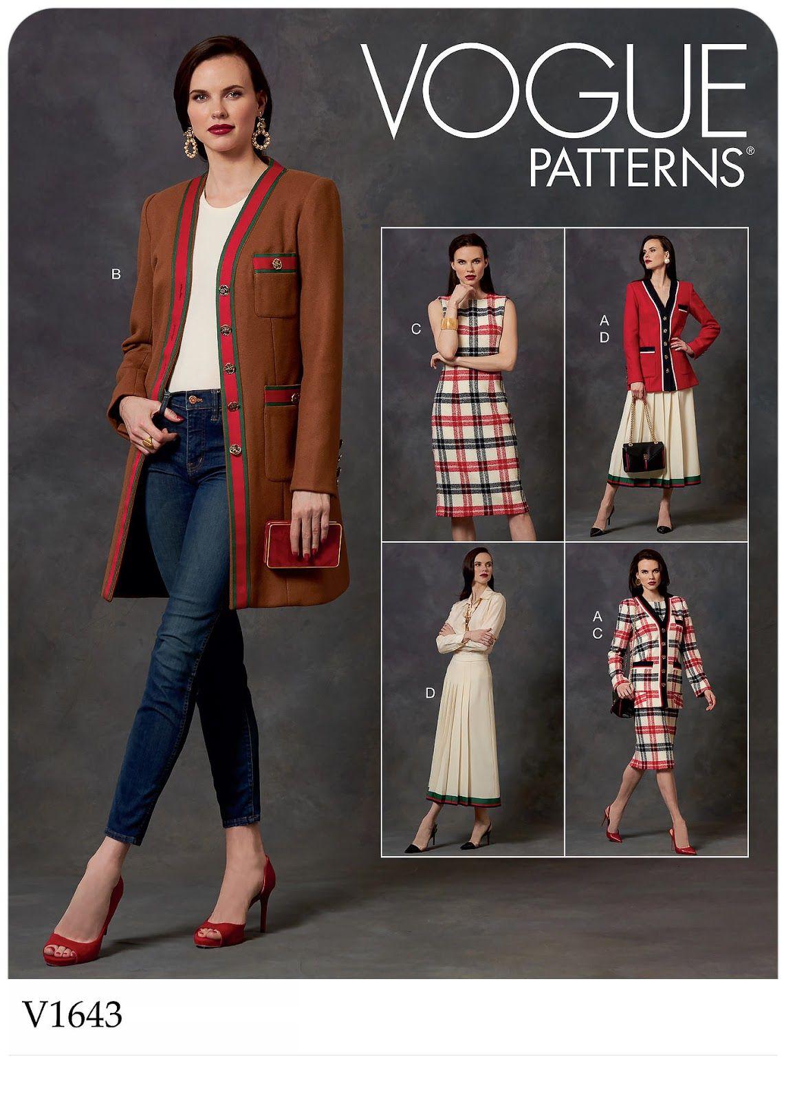 Vogue Patterns 1643 V1643 Vogue Patterns Skirt Patterns
