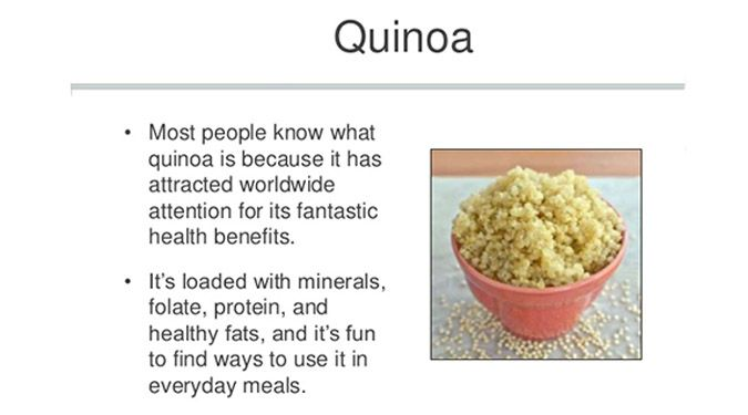 Quinoa is one of the most protein rich foods we can eat it food forumfinder Choice Image
