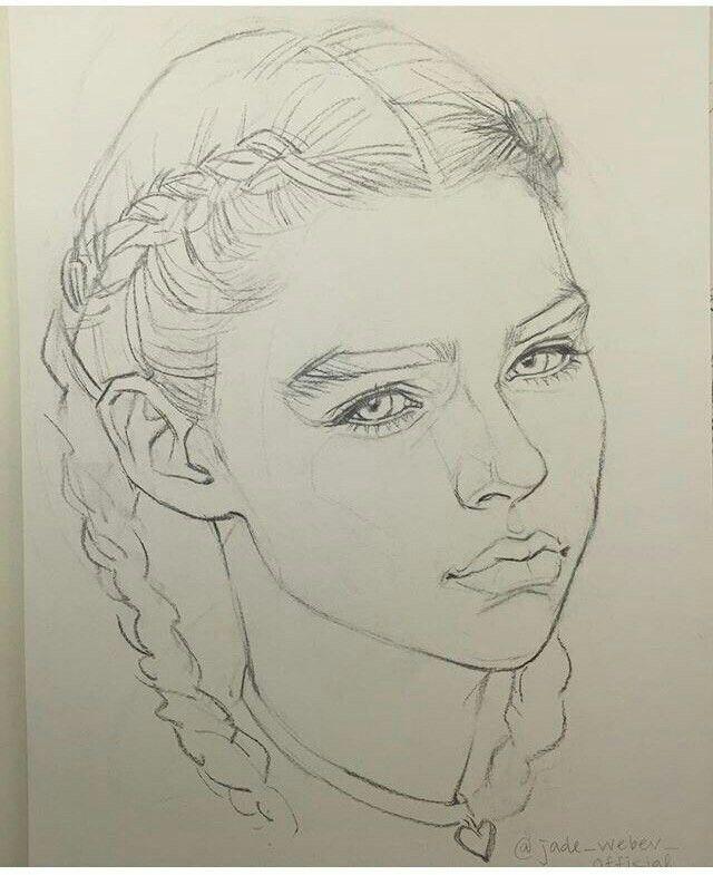Boxer Braids Girl Art Tips Tricks And Inspiration Arte