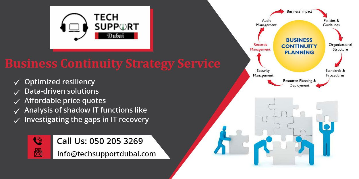 Business Continuity Strategy Service in Dubai Preempt