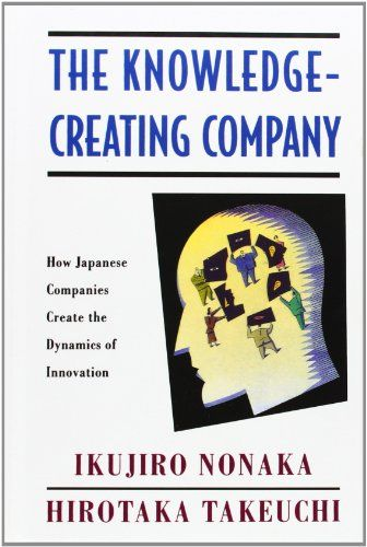 The Knowledge-Creating Company: How Japanese Companies Create the Dynamics of Innovation by Ikujiro Nonaka http://www.amazon.co.uk/dp/0195092694/ref=cm_sw_r_pi_dp_G6t4wb0AS09N9