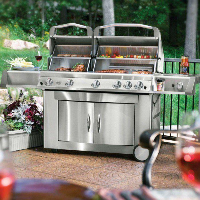 Outdoor Küche und Gartenküche: Varianten, Materialien und Anbieter