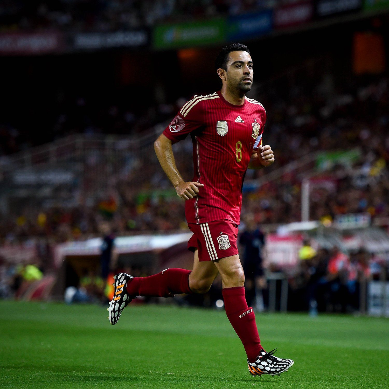 Xavi On The Spain National Team Fifa Football Sport Soccer Soccer