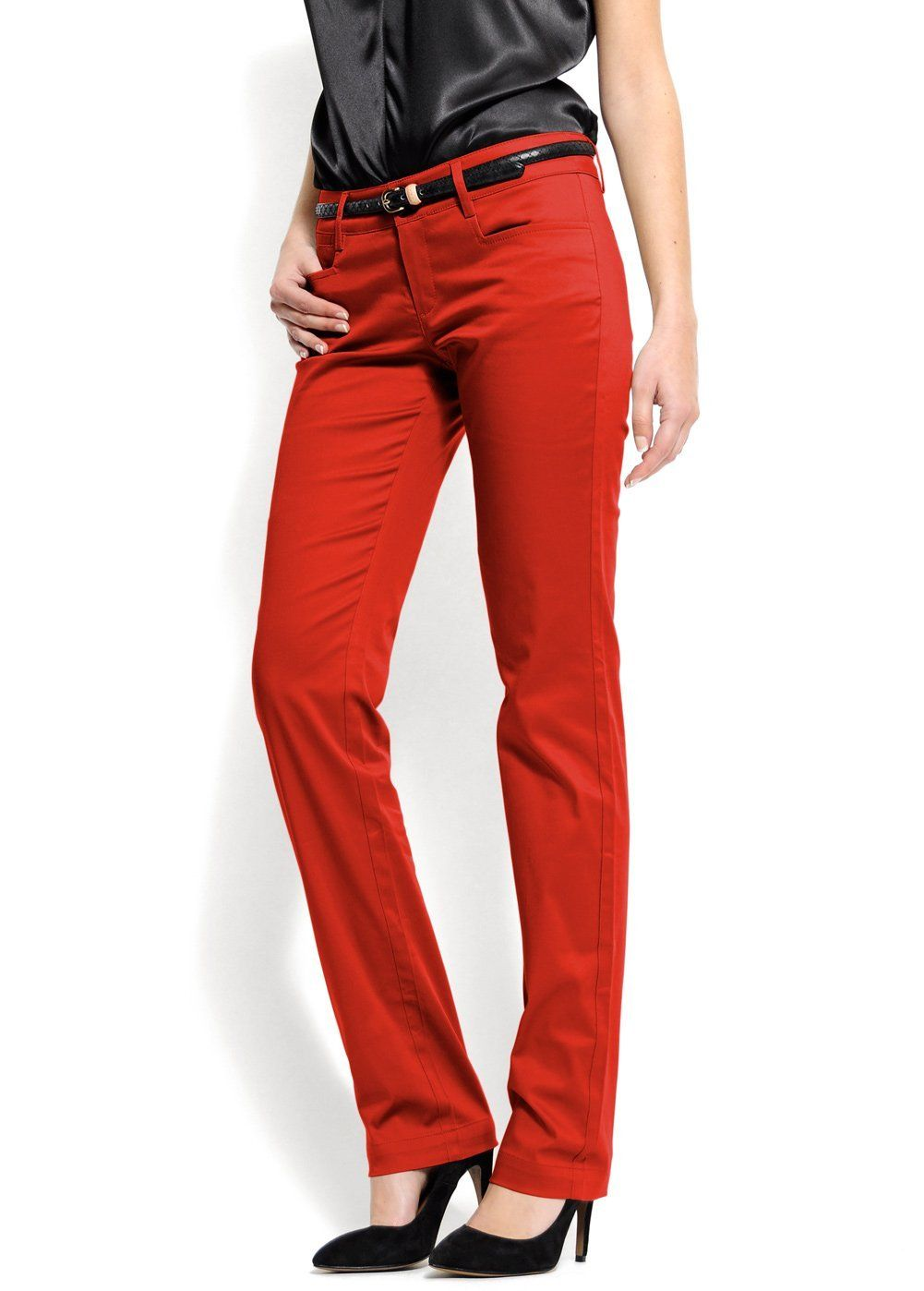 Red Dress Pants For Women - Pant Row