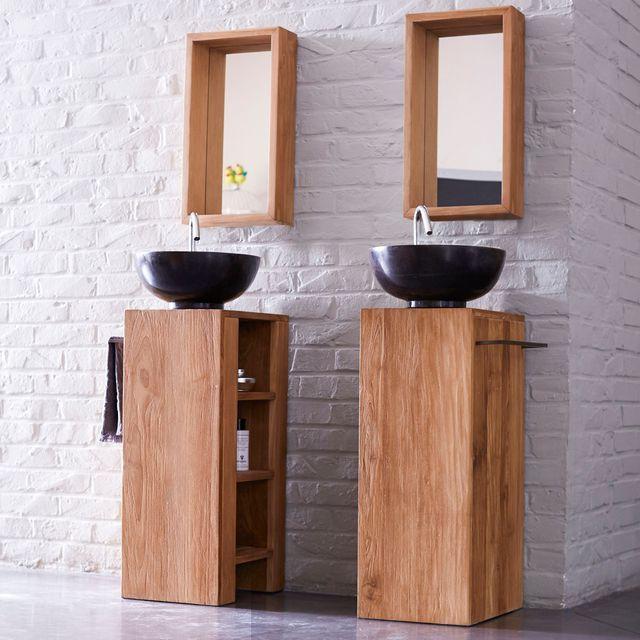 Salle de bains design  12 photos pour s\u0027inspirer Toilet, Woods - salle de bains design photos