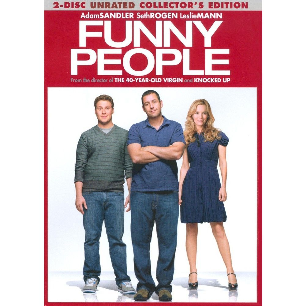 Funny People (Rated/Unrated Versions) (Special Edition) (2 Discs) (dvd_video)