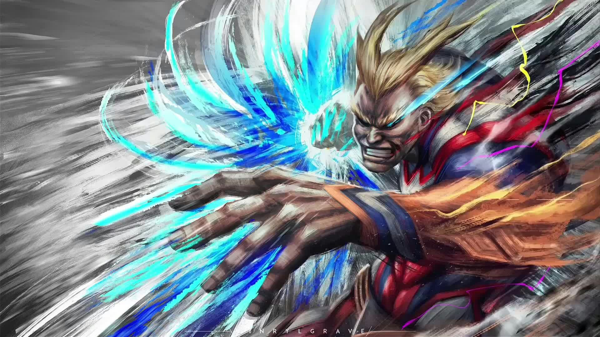 Allmight United States Of Smash Wallpaper 4k Hero