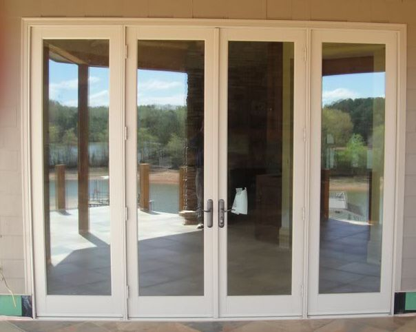 3 Panel Hinged Patio Door : Foot widefrench doors google search guest house