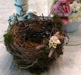 Make your own birds nest
