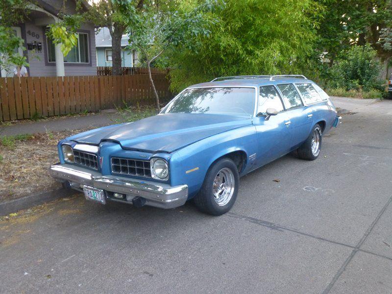 1975 Pontiac LeMans Safari Wagon...this is what I got after ...