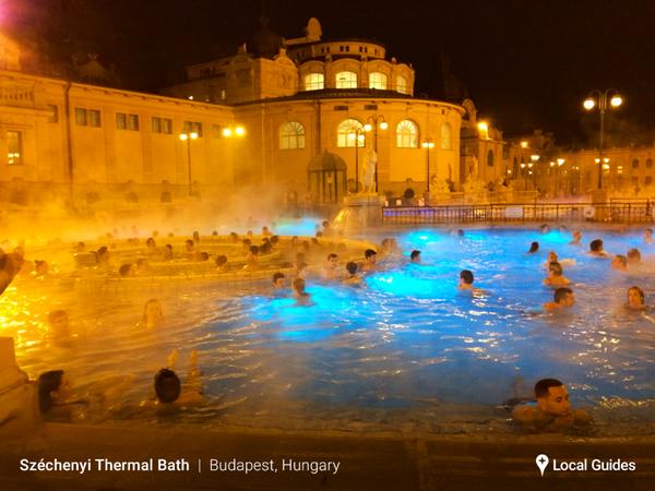 Bagni Szechenyi, Budapest, Ungheria | Viaggiare Turismo | Pinterest