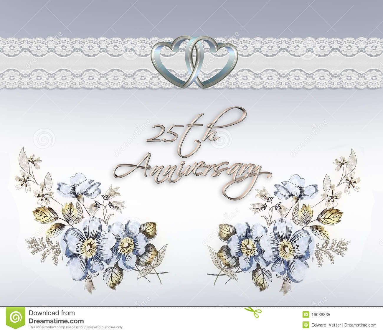 free printable 25th anniversary cards Google Search – Printable Wedding Anniversary Cards