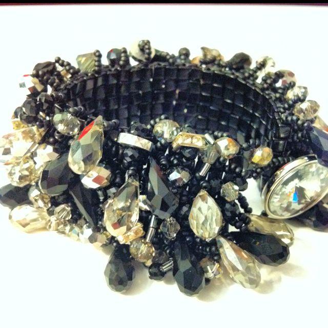 Black + Smoke Treasure Bracelet $100