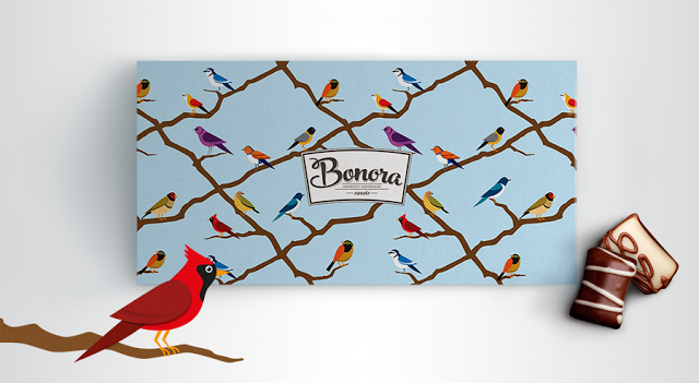 Bonora Chocolates on Packaging of the World - Creative Package Design Gallery