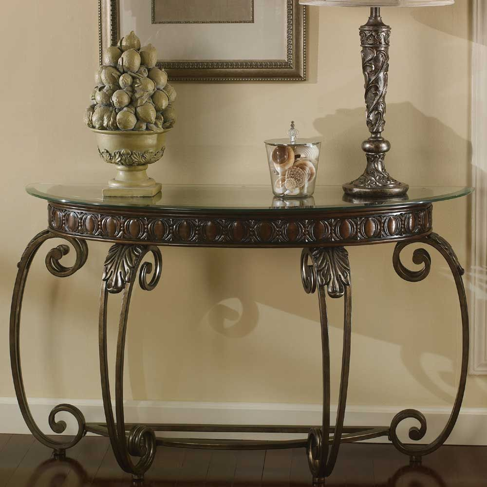 Tullio Metal Sofa Table By Signature Design By Ashley Sofa Table Ashley Furniture Furniture