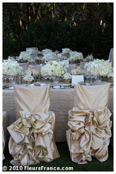 Chair Covers Wedding Costs Diy Folding With Pin Tucks These Probably Cost Like 10 A But They Are Gorg
