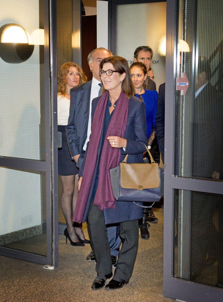 Princesse Caroline Visit Le Diamonds Factory Gassan